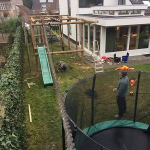 Play equipment and obstacle