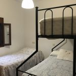 shared bedroom at outdoor accommodation