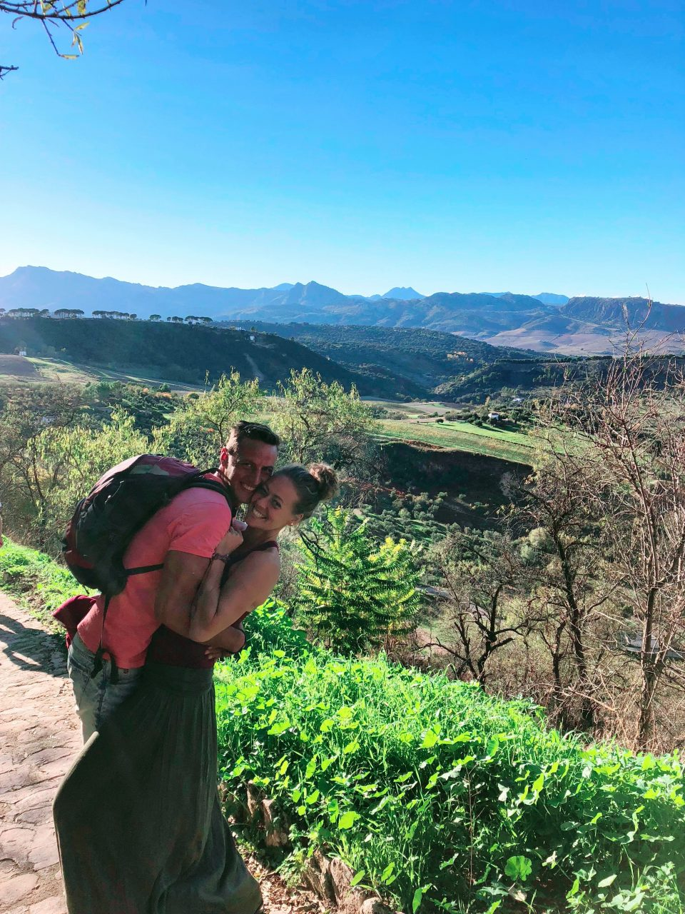outdoorweek op maat, trail rondom Ronda