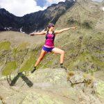 gastdocente tijdens yoga en hiken/trailrunnen vakantie