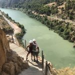 caminto del rey tijdens outdoor sportvakantie in Spanje