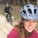 bike selfi during mountainbike holiday in Spain