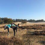 run yoga tijdens yoga en actief vakantie in Spanje