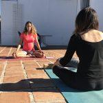 meditatie tijdens nieuwjaar retreat