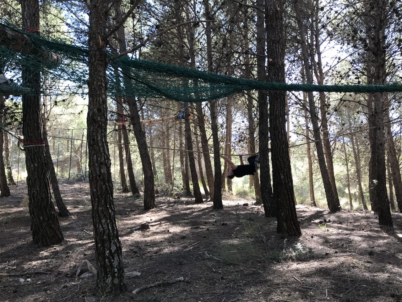 survivalrunnen in Spanje. survival tijdens outdoorvakantie in Spanje