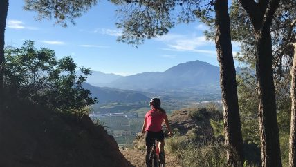 Pizarra mountainbike vakantie in Spanje, mountainbike holiday in Spain