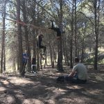survival tijdens jongerenvakantie in Spanje