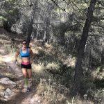 trailrunning tijdens yoga en actief vakantie in Spanje