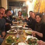 uit eten tijdens outdoor sportvakantie in Spanje
