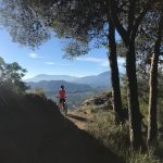 mountainbiken tijdens outdoor vakanties in Spanje