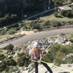 rots klimmen tijdens outdoor vakanties in Spanje