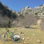 at lifa during mountainbike holiday in Spain