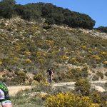 gevorderde route tijdens mountainbike vakantie in Spanje