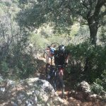almost at mountainbike holiday in Spain
