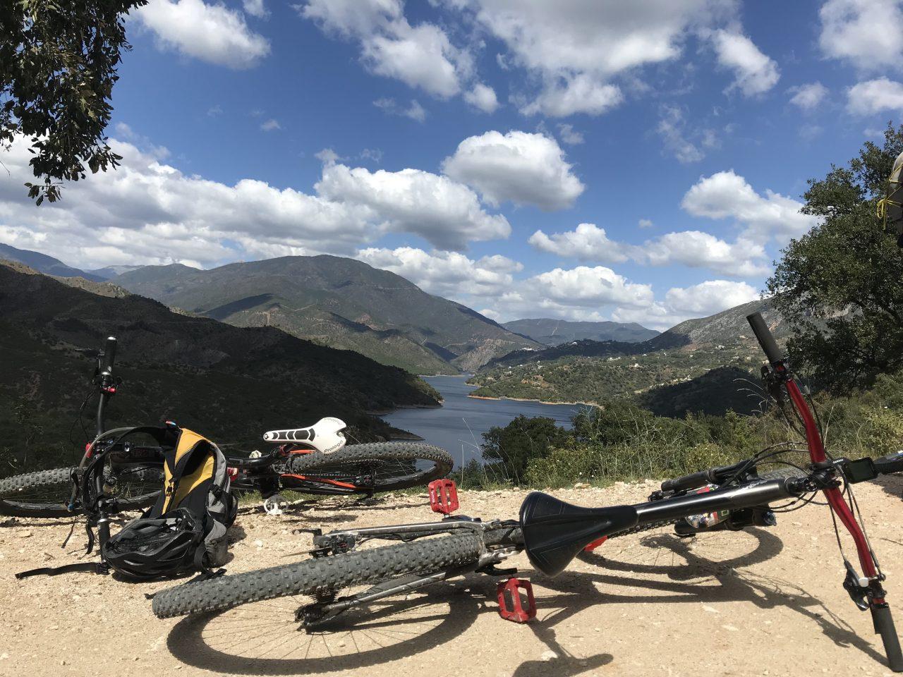 lazy bikes tijdens mountainbike reis Spanje