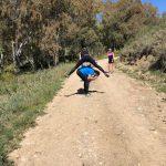 trailen tijdens outdoor en fitness vakantie in Spanje
