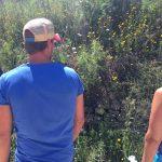 bloemen determinatie tijdens sportvakanties in spanje