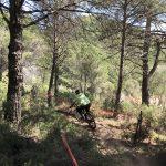 bert afdaling 5 tijdens sportvakanties in Spanje