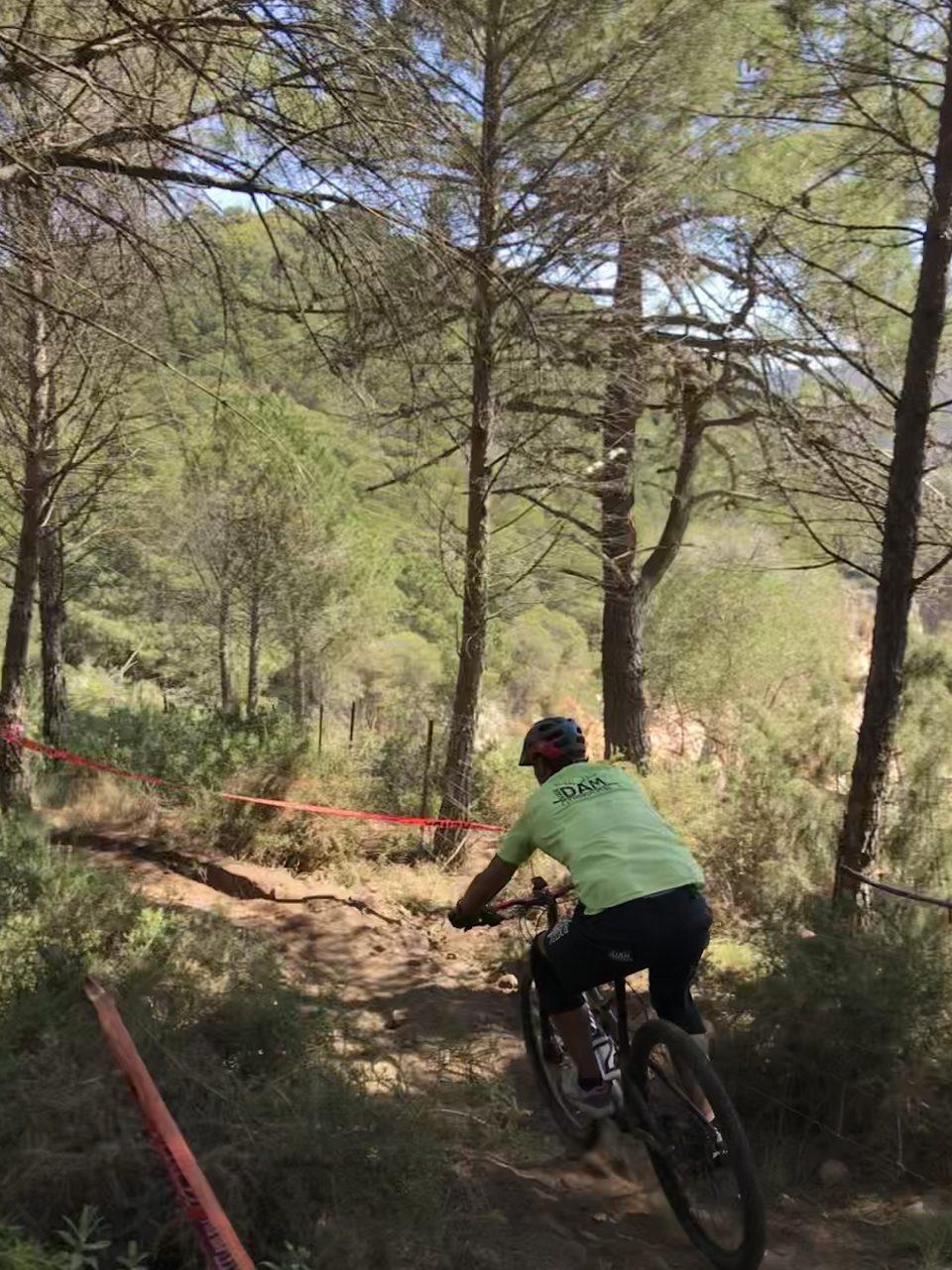 afdaling enduro MTB vakantie in Spanje