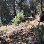 afdaling 5 tijdens sportvakanties in Spanje