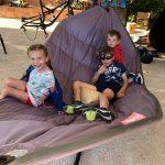 familie relax tijd tijdens sportvakanties