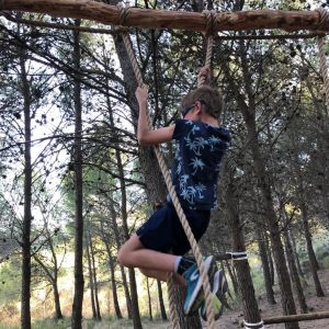survival during active family holiday in Spain