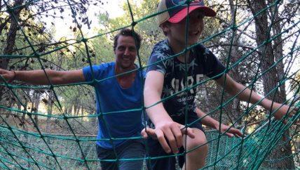 survival tijdens actieve 1 oudervakantie in Spanje
