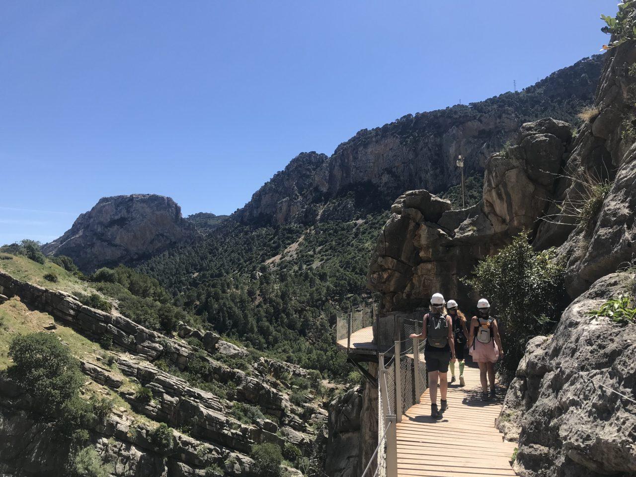 caminito del Rey tijdens sportvakanties in Spanje