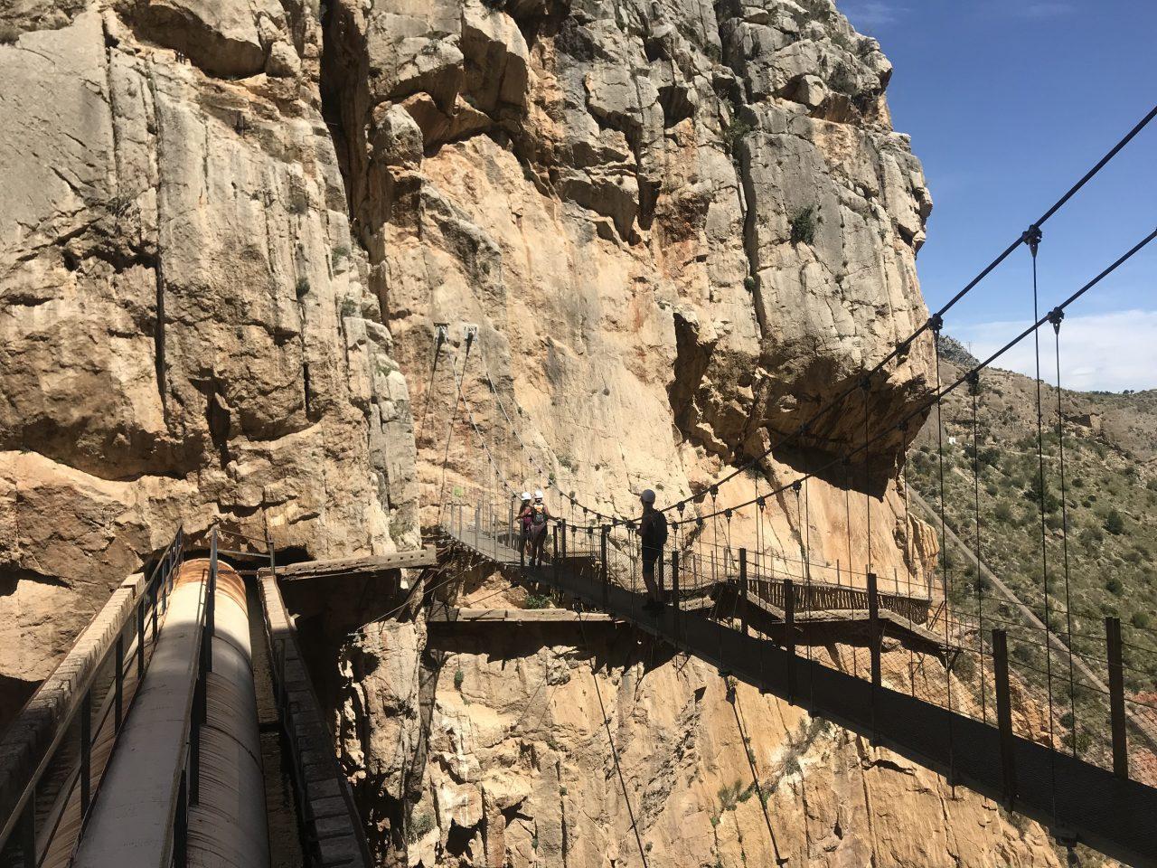 caminito del rey outdoor activiteiten Spanje