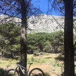 mountainbiken tijdens leiderschap retraite