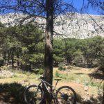 uitzicht tijdens mountainbike vakantie in Spanje