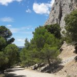 el chorro at sport holiday in Spain
