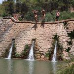 van Dam dam tijdens sportvakanties in Spanje