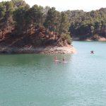 suppen meer van Ardales tijdens sportvakanties in Spanje