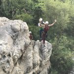 canyoning tijdens sportvakanties in Spanje