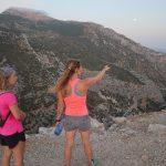 hike tijdens outdoor sportvakantie in Spanje