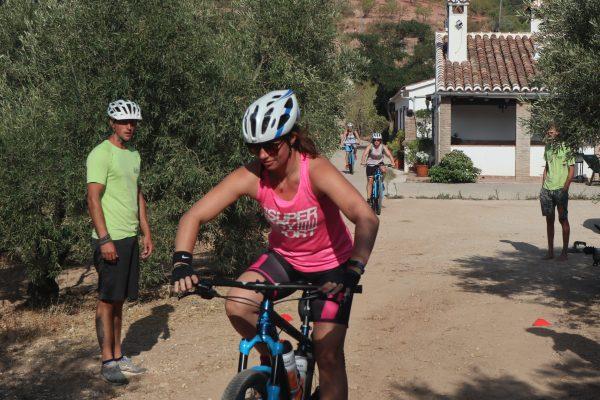 mountainbiking in Spain