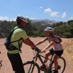 mountainbike training tijdens outdoorvakantie in Spanje