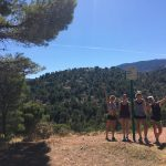 puerta de la mujertijdens yoga en hiken/trailrunnen in Spanje