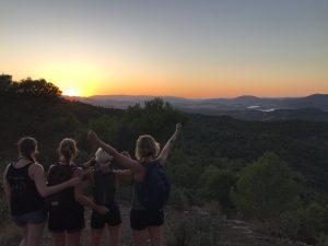 Yoga en hiking en/of trail running