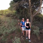 tijdens yoga en hiken/trailrunnen in Spanje