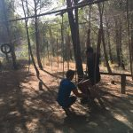 survival training tijdens jongerenvakantie in Spanje