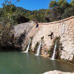 zwemmen tijdens outdoor week in Spanje