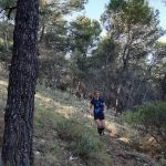 trail run tijdens yoga en hike/trailrun vakantie