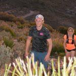 avond hike hiken en trailrunnen vakantie in Spanje