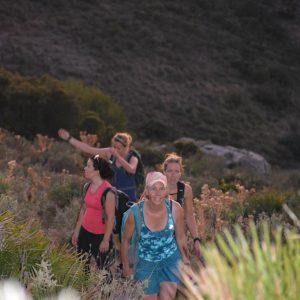 yoga and hiking/trailrunning