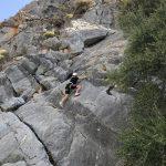 rots klimmen outdoor en fitness vakantie