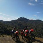 uitzicht Enduro sportvakantie in Spanje