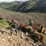 day 7 at enduro holiday in Spain