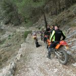 day 3 during Enduro holiday in Spain